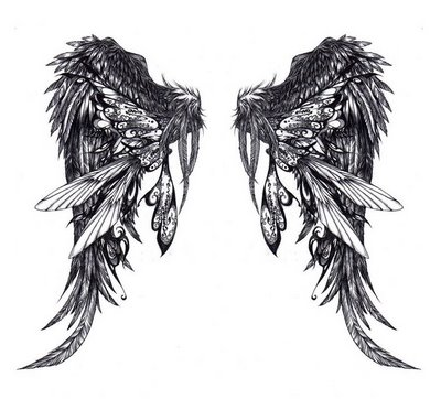 Angel-wing-tattoo-design